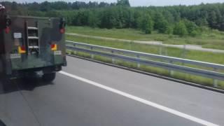 Военная техника Польши и США на границу Украины...