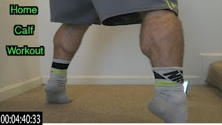 Intense 5 Minute At Home Calf Workout by Anabolic Aliens