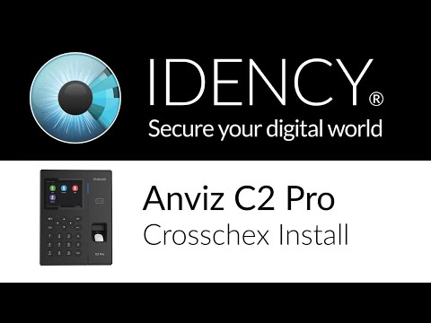 Idency: How to Install an Anviz C2 Pro with Crosschex