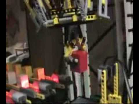 Guy Builds His Own ABB Flexpicker Robot Out Of Lego