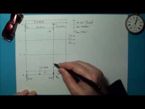 FLESSIONE RETTA: esercizio trave in acciaio n° 1 (13)