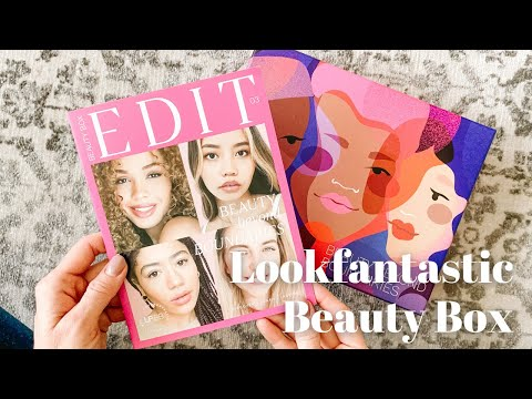 Lookfantastic Beauty Box Unboxing March 2021