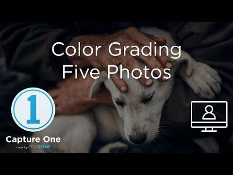 Color Grading Five Images | Webinar | Capture One 12