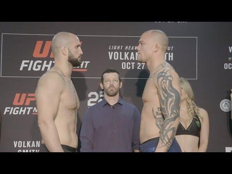 La pesée de l'UFC Fight Night 138