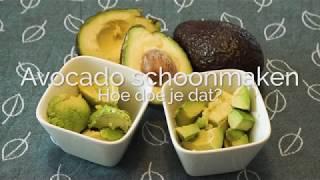 Avocado schoonmaken hoe doe je dat? PuurGezond