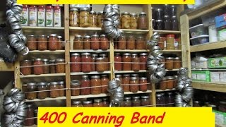 Long Term Food Storage: CANNING BANDS! OVER 400 Plus! NOW WHAT?????!