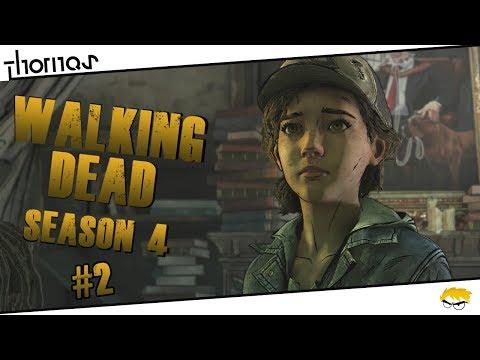 The Walking Dead 4 - |#02| - Čerstvá krev.. | Český Let's Play | Částečný překlad