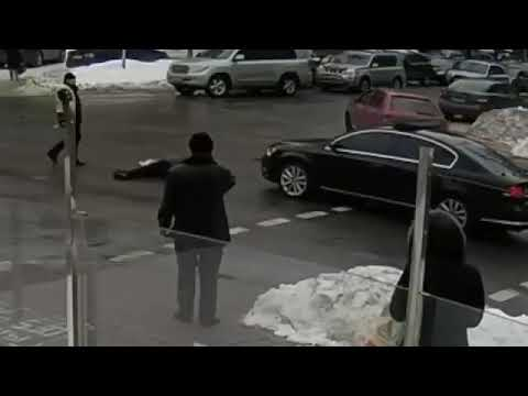 авто из кортежа президента сбило пенсионера