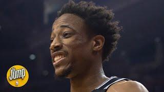 Did DeMar DeRozan's dunk on the Raptors seem personal? | The Jump
