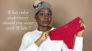 What Color underwear should you wear with white ? | Stacy's Tip Talks