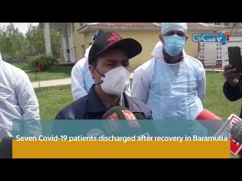 Seven Covid-19 patients discharged after recovery in Baramulla