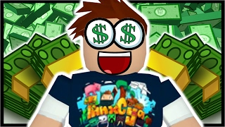 100 000 Robux In Roblox Roblox Bank Tycoon Minecraftvideos Tv