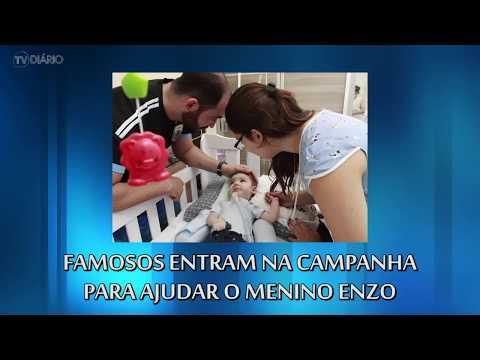 Dupla Fiduma e Jeca gravou vídeo pedindo ajuda para o pequeno Enzo, que tem 6 meses