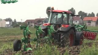 preview picture of video 'Farm Show Osijek - Kubota M9960 - Regent'