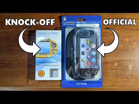 Hori Elite Pack PS Vita 2000 Case Comparison!