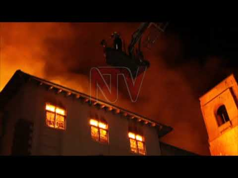 MAKERERE FIRE: Police team yet to access main building