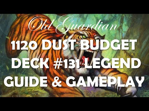 1120 dust Legend Budget Midrange Hunter deck guide and gameplay (Hearthstone Rise of Shadows)