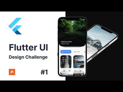 Flutter UI - Design Challenge 1 - Travel Application