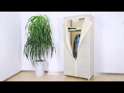 JAGO Mobiler Kleiderschrank in drei verschiedenen Farben KLSK02