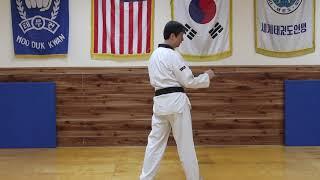 Instructional Back Kick