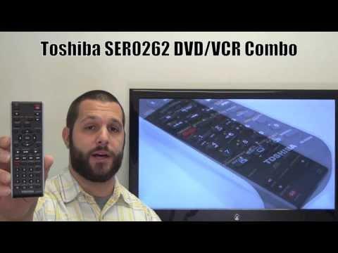 TOSHIBA SER0262 DVD/VCR Combo Player Remote Control