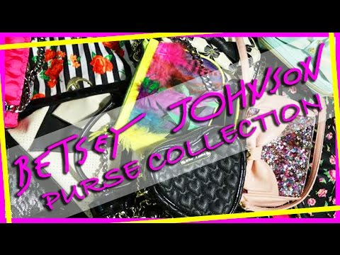 , title : 'Betsey Johnson Purse Collection'