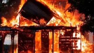 В Черкасской области сожгли храм сатанистов