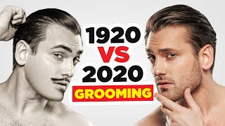 100 Years In Mens Grooming Routines (1920 Vs 2020) Who Had It Better?