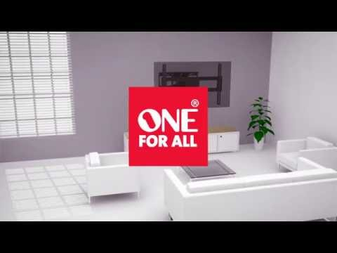 "One for All Support TV Solid Turn 120 Double (Mur, 84"", 60kg)"