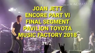 "Joan Jett,""Real Wild Child,Everyday People"" Encore,Last Part,ToyotaMusicFactory,Las Colinas,TX 2018"