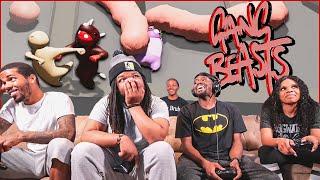 MAJOR Crap Talk & EPIC Knockouts! (Gang Beasts)