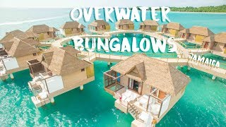 New 2018! Overwater Bungalows Jamaica - Sandals South Coast Room Tour