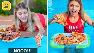 FUNNY POOL HACKS & GAMES! More Summer DIY Life Hacks