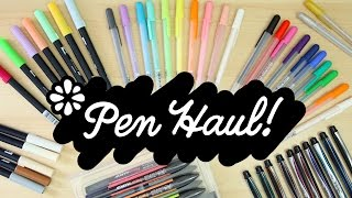 Pen Haul! | Sea Lemon