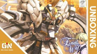 MG 1/100 Sandrock EW - Unboxing (Giant Curved Blades)