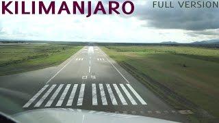 WONDERFUL Kilimanjaro A320 Cockpit Landing | LONG VERSION HD