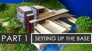 Part 1 | How To Make A Model Of Falling Waters | Model Making With Sumit