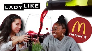 We Paired Wine With Our Favorite Fast Food • LadyLike