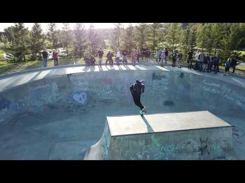 Wasilla, Alaska - Wonderland Skate Park - Alaska Bicycle Center Hang5Gear Meet and Greet