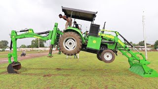 JCB in New Look | JCB for Tractor | Backhoe Loader Attachment for Tractor | Arun Agro 9340449951