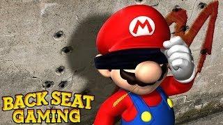 BEATING MARIO BLINDFOLDED (Backseat Gaming)