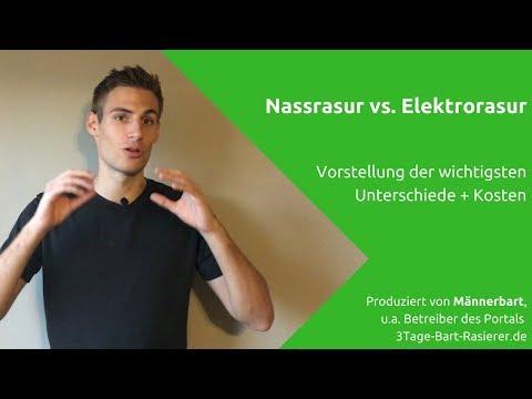 Nassrasur vs. Elektrorasur: Welche Methode ist für wen besser und günstiger?
