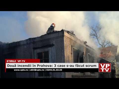 Două incendii în Prahova: 3 case s-au făcut scrum