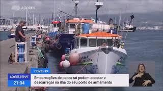 Embarcações de pesca dos Açores limitadas a acostar e descarregar na ilha do seu porto de armamento