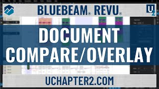 Bluebeam Document Compare/Overlay & Tip