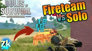 Solo Fireteam Vs Solo / Rules Of Survival: Battle Royal #55