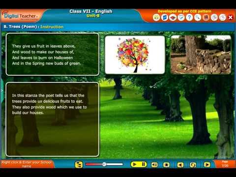 Happyclass - Trees, English, CLASS 7 - NCERT CBSE