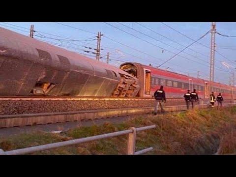 Ιταλία: Τουλάχιστον δύο νεκροί και δεκάδες τραυματίες σε εκτροχιασμό τρένου…