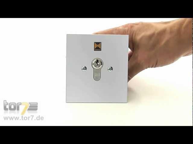 Produktvideo Hörmann Schlüsseltaster ESU 40