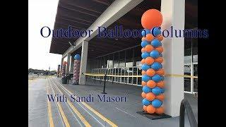OUTDOOR BALLOON COLUMNS